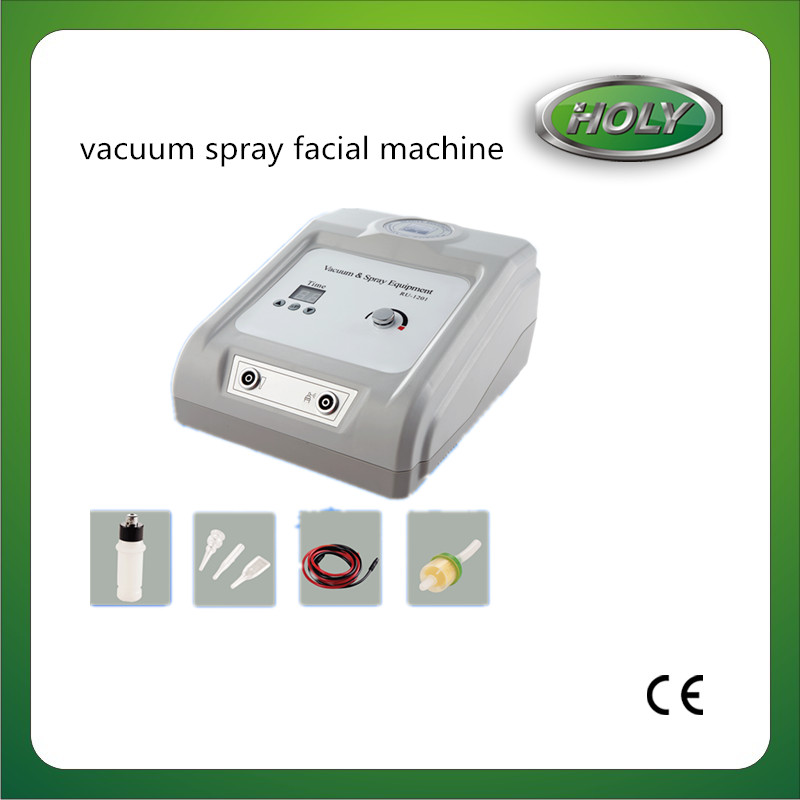 Portable Spa Facial Treatment Machine With Spray Vacuum For Beauty Parlor