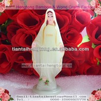 cheap 10.5cm plastic religious grow in the dark holy mary statue,sacred statue,religious satue. CITA LIGHT LADY