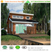 low cost prefabricated wooden villa house price for sell