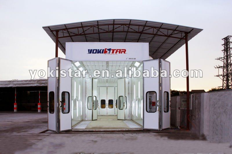 mobile spray booth CE certification table spray bake paint booth