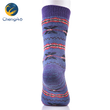 Sample Free Women Winter Cheap Bulk Wholesale 100 Cotton Christmas Sock