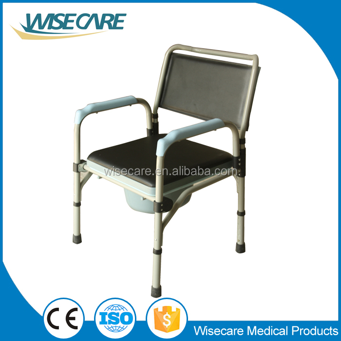 Deluxe Height Adjustable Folding Commode Chair For Old People Buy Commode C