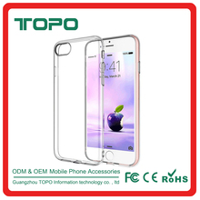 Ultrathin 0.3mm soft tpu transparent phone case accessories clear soft accessories rubber silicon case for iphone 7 plus case