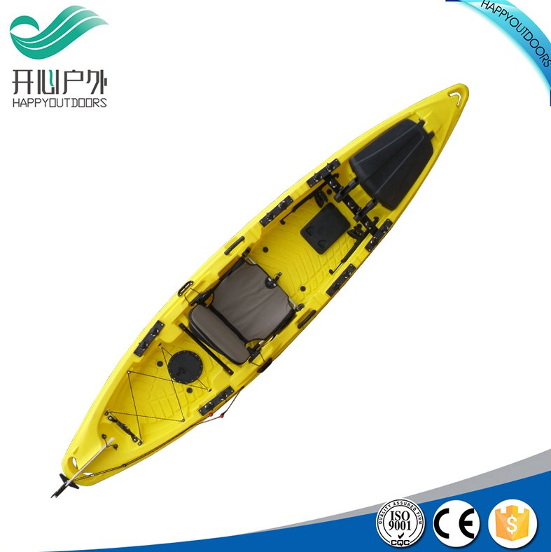 2016 New design Deluxe 4.1 meter professional fishing kayak