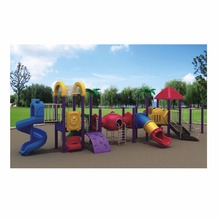 HLB-7101B Outdoor Slide and Swing Set Playground