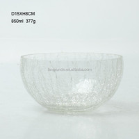 SMALL ROUND BALL SHAPED UNIQUE CRYTAL HOT SALE GLASS BOWLS