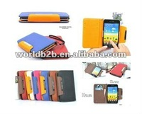Leather Pouch Case for Samsung Galaxy Note i9220 N7000