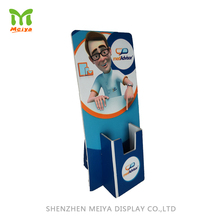 China Manufacturer Recycled Cardboard Corrugated Paper Material Brochure Holder For Retail