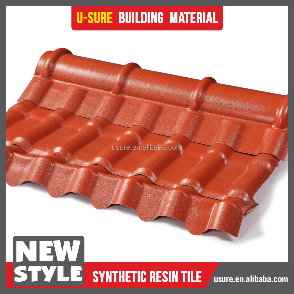 roof design for house / corrugated clear plastic roof / prefabricated houses curved roof tile