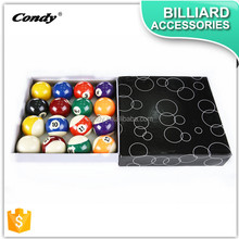 CONDY manufacture price cheap pool resin billiard 8 ball