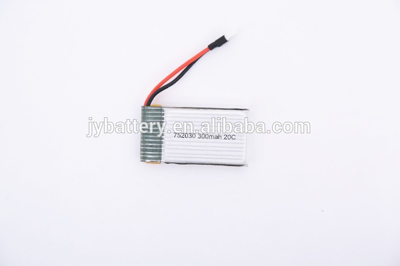 High energy density 702030 li-polymer 3600mah 7.4v small lithium polymer battery from J&Y