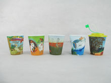 Promotional 285ml 3D Plastic Straw cups