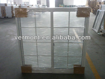 aluminum window with grille