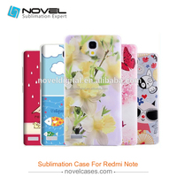3D Sublimation Blank Phone Case For Redmi Note