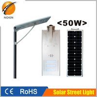 High quality IP65 waterproof integrated led solar street light