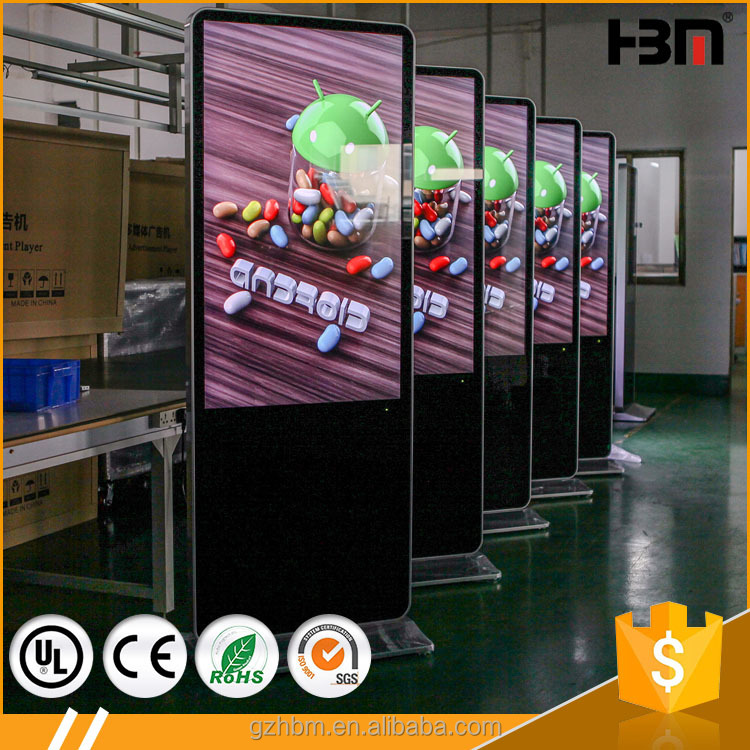 high quality Android network led panel digital advertising screens