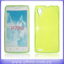 For Lenovo P780 Cell Phone Plain TPU Shell Covers