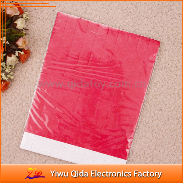 wholesale cheap waterproof eco-friendly logo available disposable tyvek paper wristband