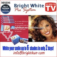 At Home Professional Teeth Whitening Kit 44% Carbamide Peroxide with Syringes of Gel 5 Pcs. 3cc Syringes