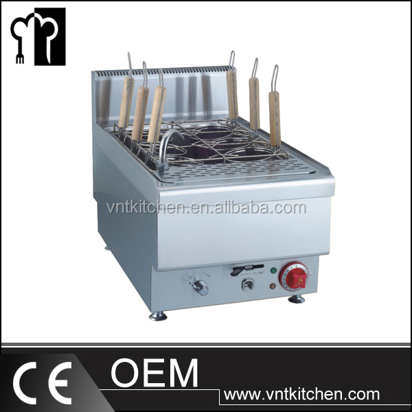 Kitchen Equipment Electric And Gas Pasta Cooker