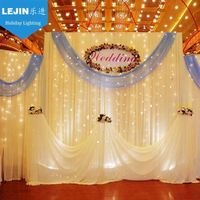 Qualified 2x5m Party Wedding Decoration LED Curtain Light from Wuxi