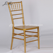 wholesale bulk Wedding banquet event used Beech wood stackable gold chiavari chairs for sale