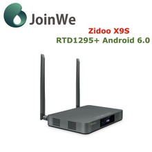 Joinwe Zidoo X9s Media Player Android 6.0 Openwrt(nas) Realtek Rtd1295 Tv Box 2g 16g Zidoo X9s Android Tv Box