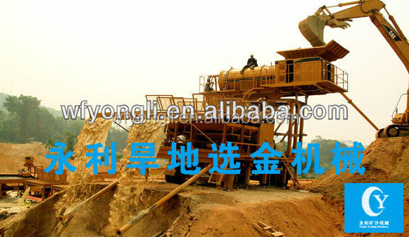 River Gold Mining Boat