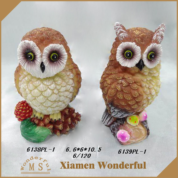 Cheap Resin crafts Owl Figurine for Home Decor