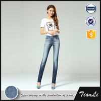 New Model Pattern Ladies Latest Design Fashion Jeans Pants