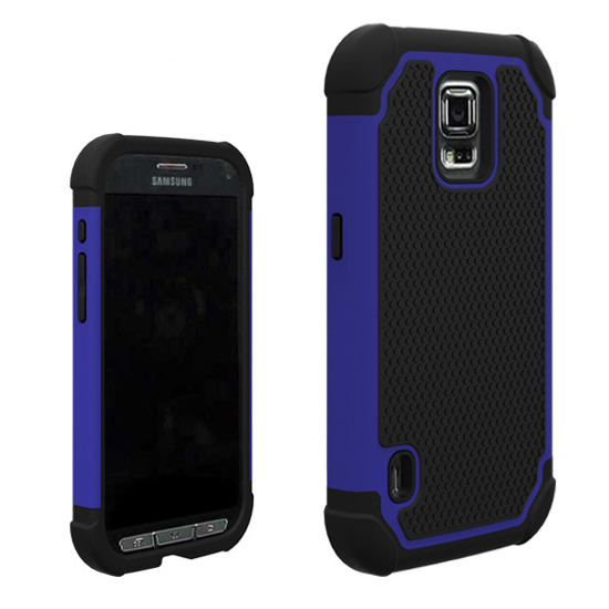 Shockproof Hybrid pc silicone Football Case Housing for Samsung Galaxy s5 Active
