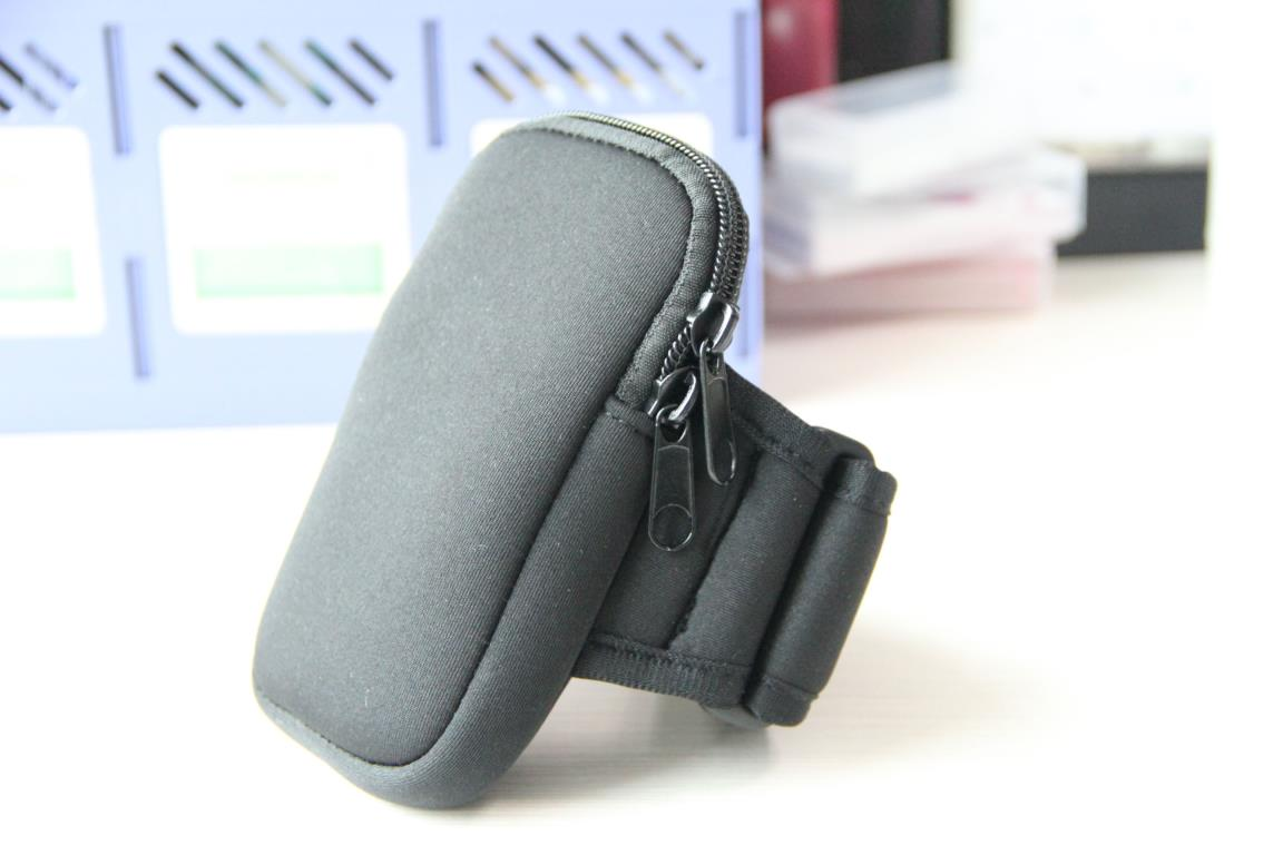 Portable Wrist Pouch Mobile Cell Phone Arm Brand Bag