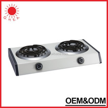 Professional Suppliers double electric stove 2000w hot plates