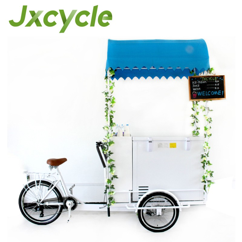 Ice Cream Tricycle With Freezer