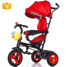 Small baby ride on toy car triciclo children rubber wheels kids plastic tricycle