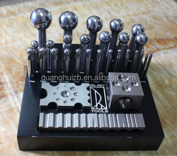Dapping Punch Set / Doming Block Precision Jewelry Shaping