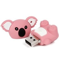 PVC Koala Shaped USB Flash Drive