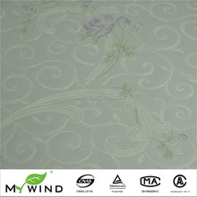 Beautiful Flower Wallpaper For Home Chinese Style Non Woven Wall Paper Modern Restaurant Decor