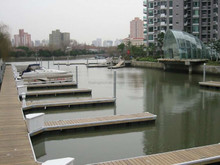 durable floating marina with fingers