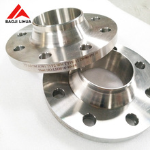 ASTM B381 Gr12 dn80 pn16 Titanium pipe flange for Natural gas