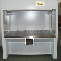 Adjustable laminar air flow dust free workstation
