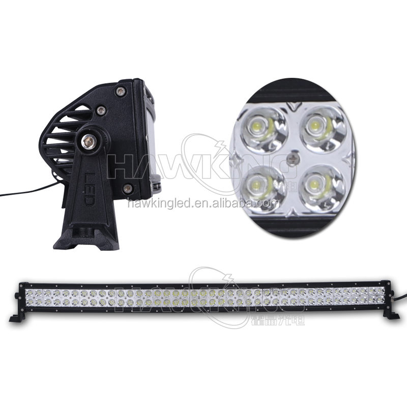 240W offroad 42 inch Epistar curved led driving light bar