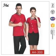 Fine dining server waiter catering banquet staff uniforms dresses wholesale