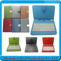 2015 Hot Selling For Samsung Galaxy P1010 Leather Case Keyboard