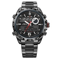 Brand Weide WH3403 guangzhou watch market, japan movt quartz watch stainless steel, relogio stainless steel back water resistant