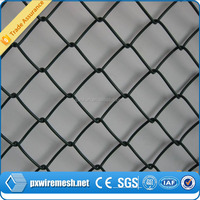 Hot dipped and electric galvanized Chain link link fence used garden building professional manufacturer