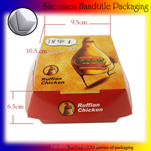 High quality custom design wax packaging kraft paper boxes