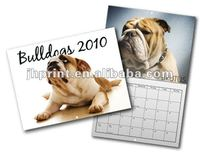 folding desk calendar with printing company