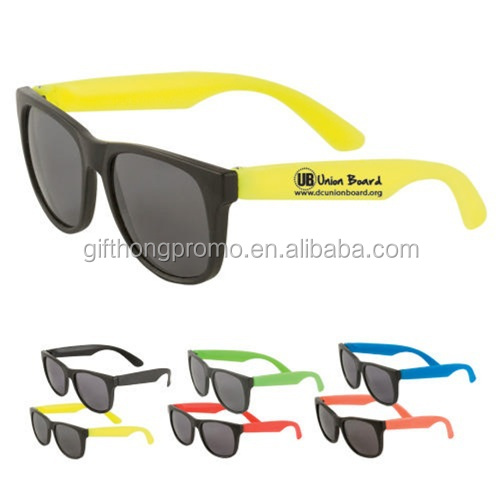 Custom Logo Brand Light Weight Simple Sunglasses