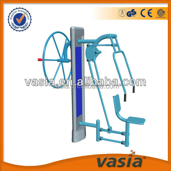 Outdoor body building equipment
